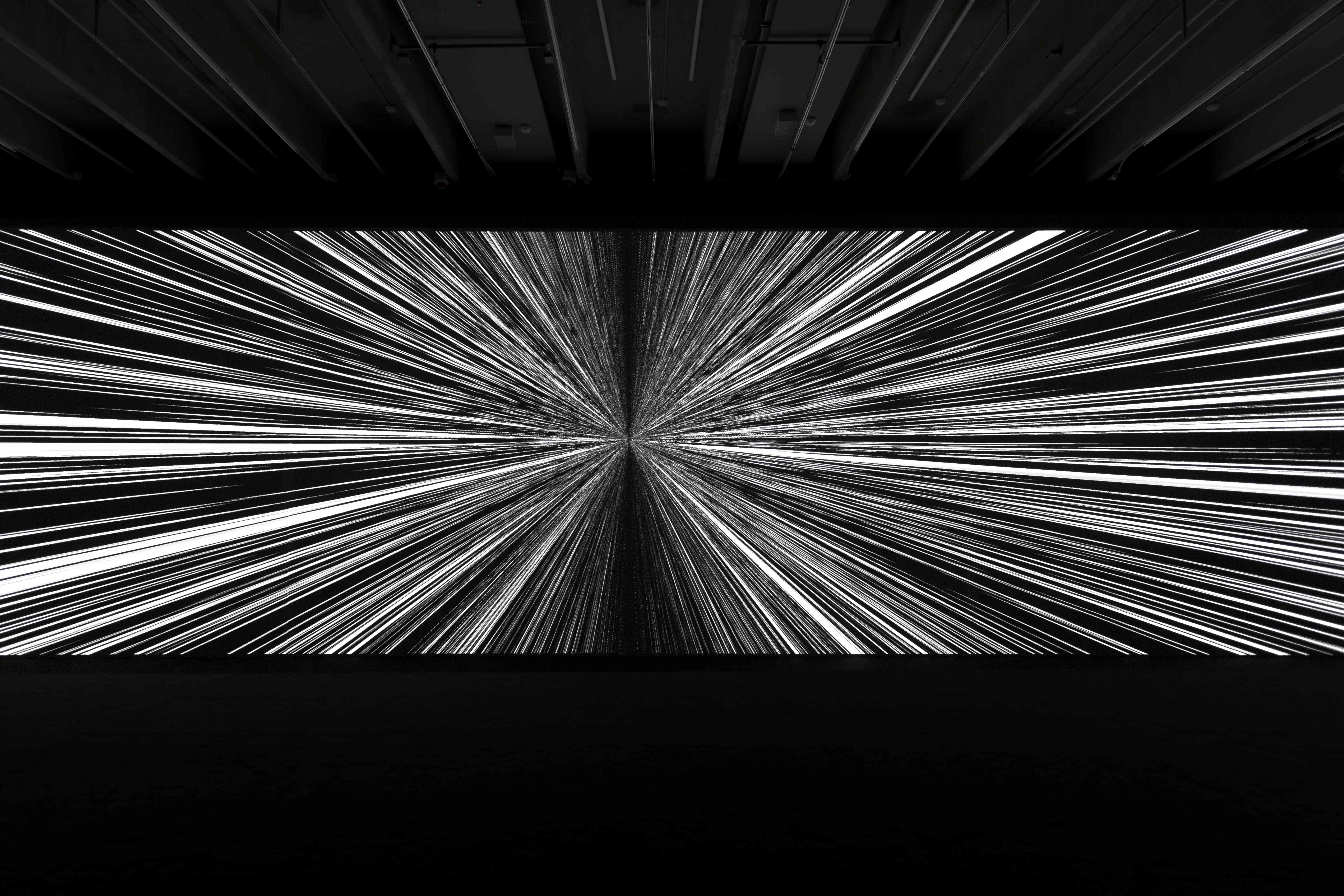 Ryoji Ikeda: code-verse