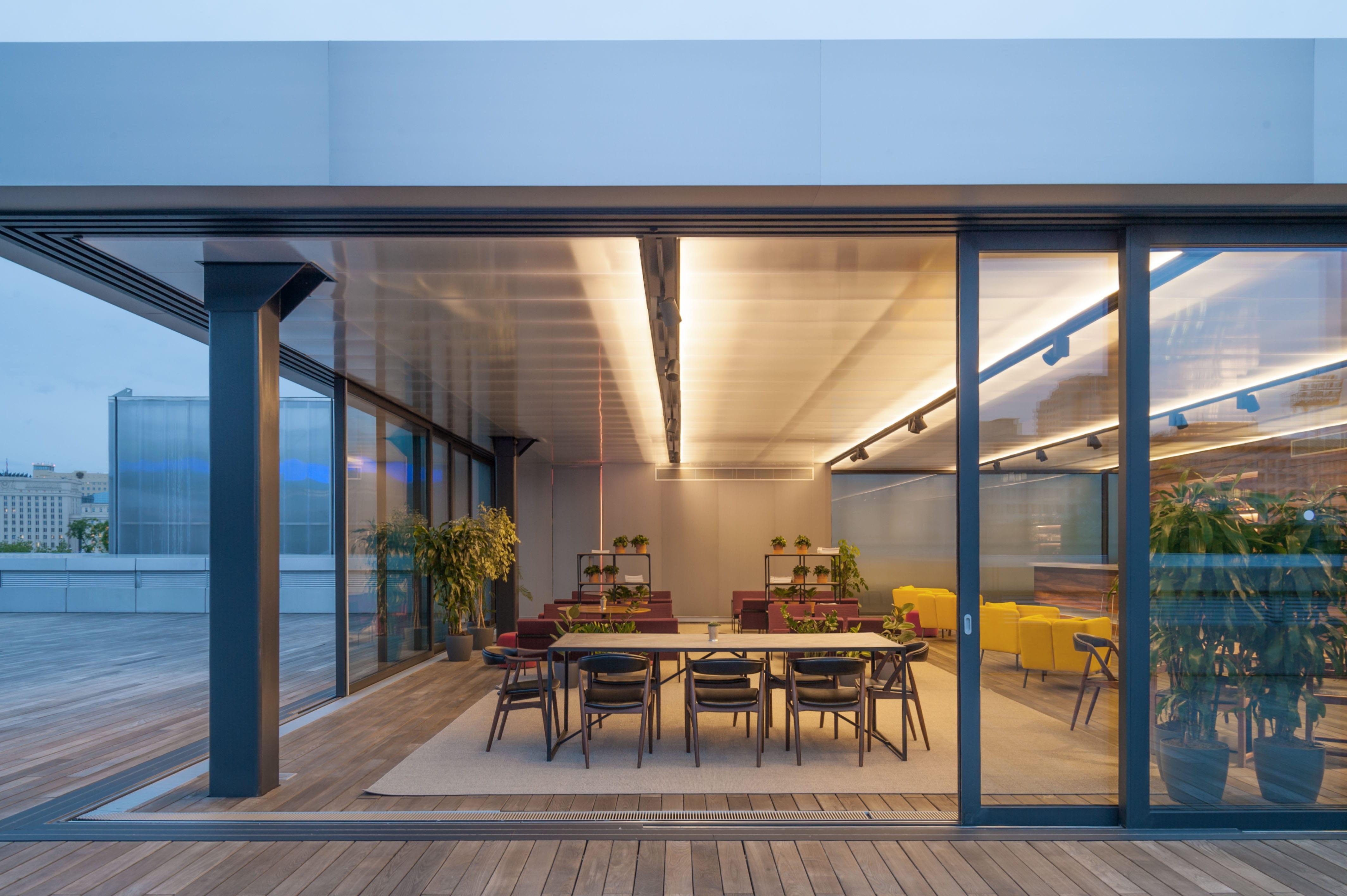 Garage Roof Pavilion